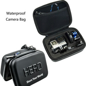 PU Waterproof Camera Carry Travel Bag Case Shockproof for Gopro Hero 6 5 4 3+ 2