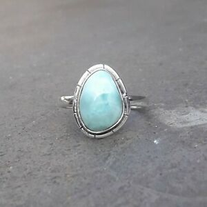 Larimar-Solid-925-Sterling-Silver-Anxiety-Ring-Meditation-Ring-SR021