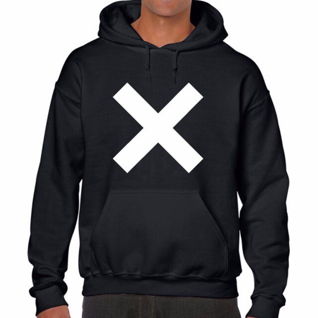 THE XX HOODIE jumper COEXIST CROSS top band INDIE CROOKS AMSTERDAM rum UNISEX
