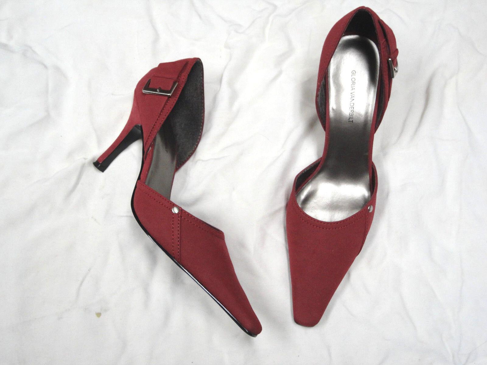Gloria Vanderbilt rose colored  high heel shoe   colored Size 9 738318