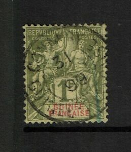 French-Guinea-SC-17-Used-small-very-shallow-ctr-thin-S9876
