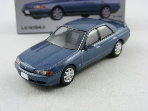 /'91 Nissan Skyline GTS25 Type X.G blau,Tomytec Tomica Lim.Vint.Neo LV-N194b,1//64