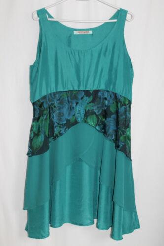 Cocon Privatsachen Kleid Aus 2 Seide commerz Türkis In Filterra Gr vwgxv7