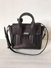 3.1 Phillip Lim Women's Black And Bronze Metallic Leather Pashli Mini Satchel