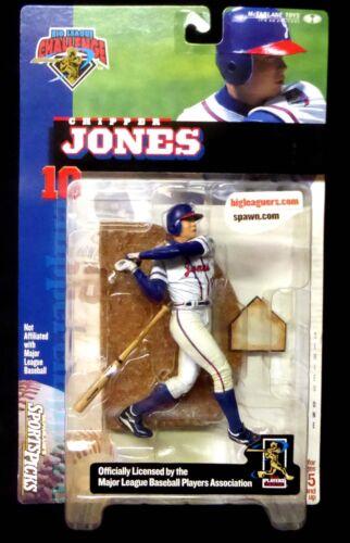 Chipper Jones Series 1 Action Figure McFarlane Sports MLB Baseball BLC
