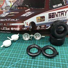 Weld Draglite Drag Race Wheels W Goodyear Slicks Rvl 124 Lbr Model Parts