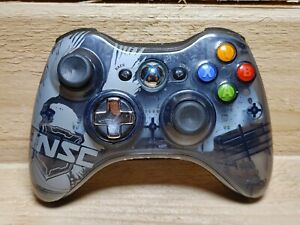 DAMAGED-Official-Microsoft-XBOX-360-Halo-4-Limited-Edition-Wireless-Controller