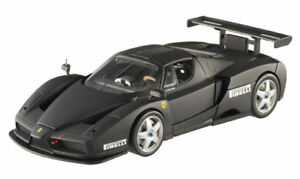 1-18-Enzo-Ferrari-Monza-Test-Car-2003-Matte-Black-by-Mattel-Hot-Wheels-Elite