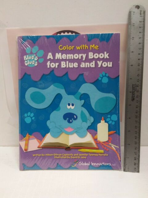 2 Piece Blue\'s Clues a Memory Book for Blue and You (color With Me ...