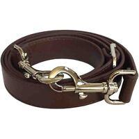 1 Wide Chocolate Brown Adjustable Cross Body Replacement Purse Strap Handbag