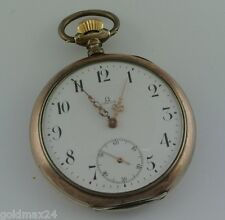OMEGA Grand Prix Paris 1900 Taschenuhr / Handaufzug / 800er Silber