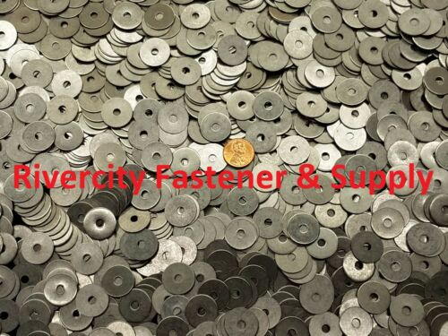 """25 #8x3//4 Fender Washers Stainless Steel 8 x 3//4/"""" Large OD Washer"""