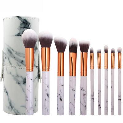 Pro 3D Mermaid Diamond Makeup Brushes Set Foundation Powder Eyeshadow Cosmetics
