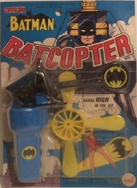 Vintage 2018 Batman ahi azrak hamway Gyro baticóptero MIP Int 'l Raro
