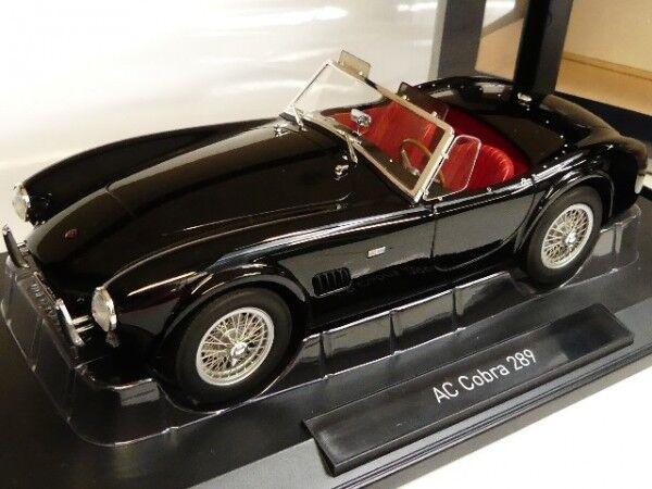 1 18 norev AC Cobra 289 1963 Noir 182754