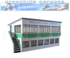 Greenhills Scalextric Slot Car Building Reims Press Box Kit 1:32 scale – Bran...