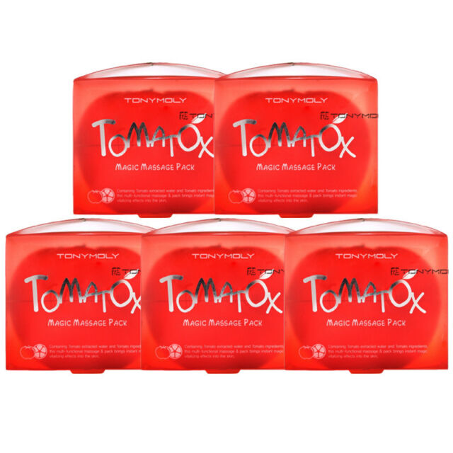 [TONYMOLY] Tomatox Magic Massage pack 80g * 5pcs  for clear skin