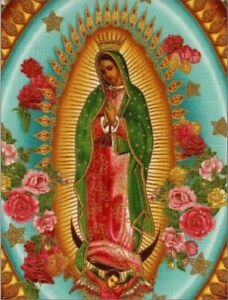 Our-Lady-of-Guadalupe-w-Roses-all-Around-Virgin-Mary-Postcard