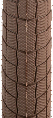 "We The People Overbite Tire 22/"" x 2.3/"" 100 PSI Brown Tread//Black Side..."