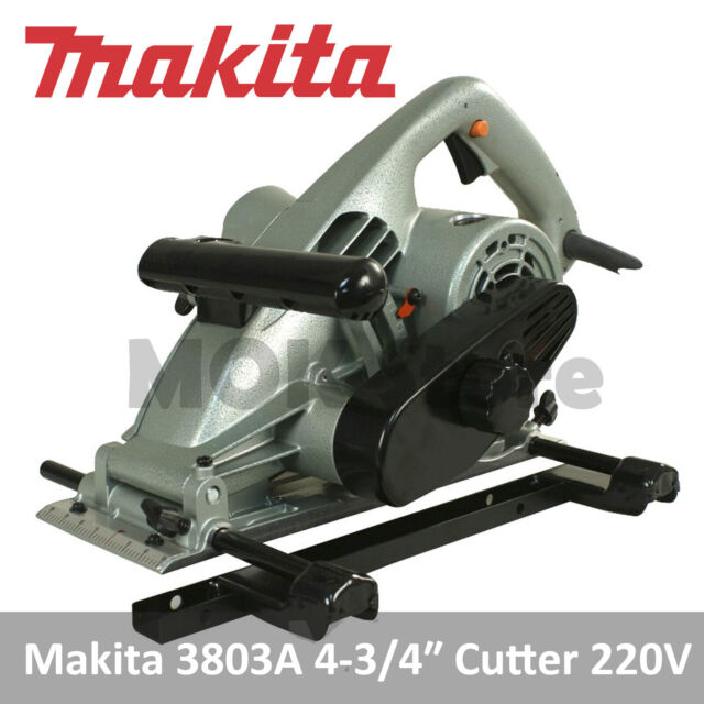 Makita 3803A 4-3/4″ Professional Groove Cutter - 220V 60Hz Plug Type C