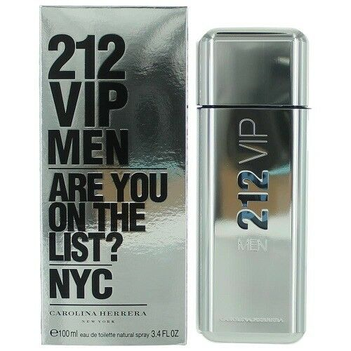 Carolina Herrera 212 Vip Men Edt Spray 100ml For Sale Online Ebay