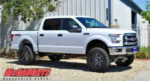 2015 F150 Lifted >> Details About Mcgaughy S 6 5 Lift Kit With Shocks For 2015 2018 Ford F 150 4wd F150 57100