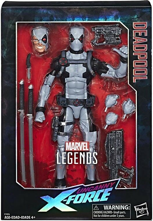 Marvel Legends Deadpool Exclusive Deluxe Collector azione cifra [Uncanny X-Men]   il più alla moda