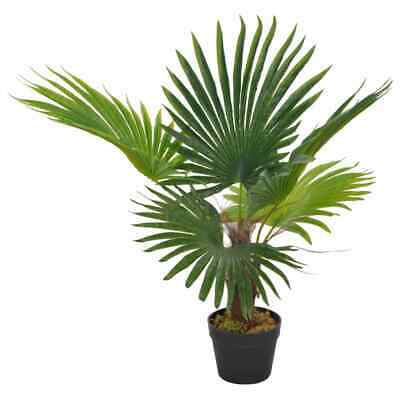 """vidaXL Artificial Bamboo Plant with Pot 68.9/"""" Green Indoor Home Floral Decor"""