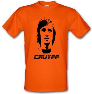 JOHAN-CRUYFF-Dutch-Football-Legend-Retro-Heavy-Cotton-t-shirt-Small-XXL