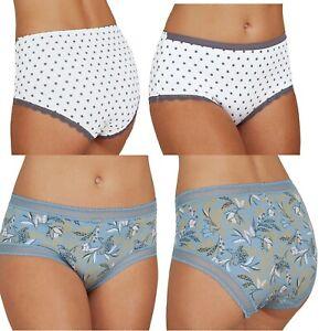 Ladies-M-amp-S-Midi-Briefs-Knickers-Underwear