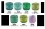 thumbnail 7 - 9-x-40m-Circulo-RUBI-Perle-8-Crochet-Cotton-Embroidery-Thread-message-me-Codes