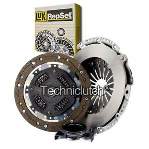 Luk-3-Piezas-Kit-de-Embrague-para-Ford-Escort-Descapotable-1-6-16v-Xr3i