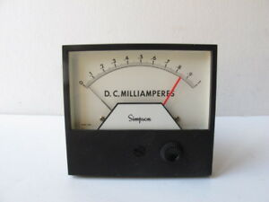 Simpson-21668-3324AIXA-Analog-Panel-Meter-Relay-0-1-Milliamperes-4-1-2-034-SSP