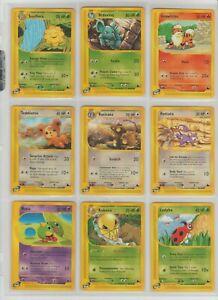 9x-SKYRIDGE-SET-COMMON-POKEMON-CARDS-TCG-LOT-eReader-2002-NON-HOLO