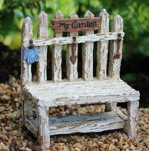 Peachy Picket Fence Potting Bench Ws 1614 Miniature Fairy Garden Ncnpc Chair Design For Home Ncnpcorg