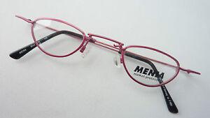 Augenoptik Vintagebrille Brille Fassung Damen Große Gläser Kunststoff Hell 70er Grösse M Kleidung & Accessoires