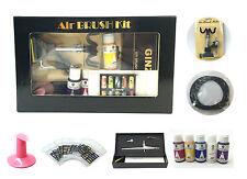 USA Air brush Nail System Kit For Air Compressor Nails Tattoo Tanning Machine