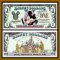 Disney 1 Dollar, 1999 Series aa Disneyland Uncirculated