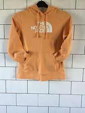 WOMENS VINTAGE RETRO ORANGE THE NORTH FACE SWEATSHIRT SWEATER HOODIE SMALL