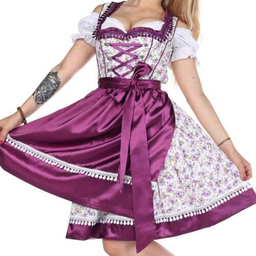 040. 6.8.10.12.14.16.18.20.22 Dirndl Oktoberfest Allemand Autrichien Robe-Tailles