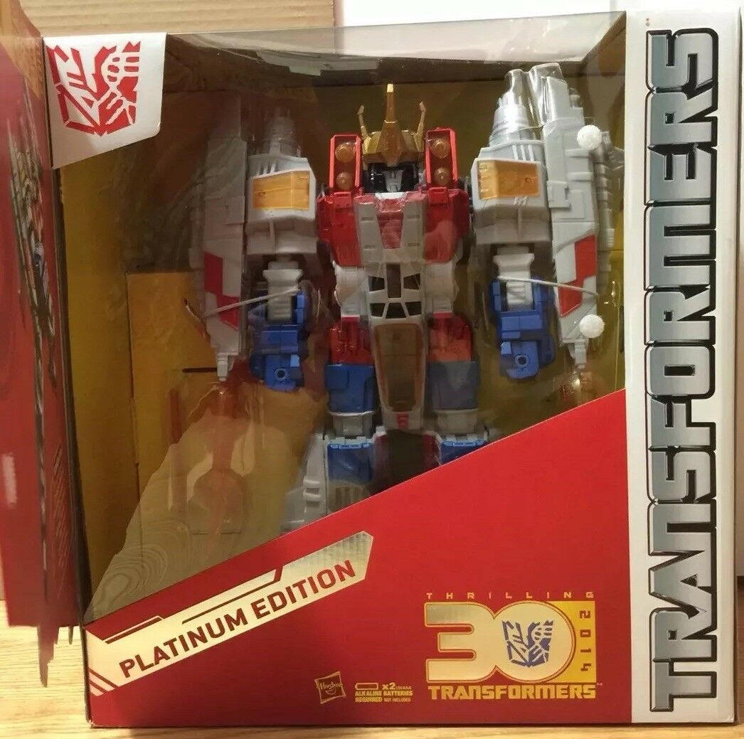 Supreme Starscream Transformers Platinum Edition Year of the Horse HTF NEW