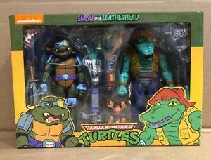 Teenage-Mutant-Ninja-Turtles-Cartoon-Series-3-7-034-Scale-Action-Figure-Leath-NEW