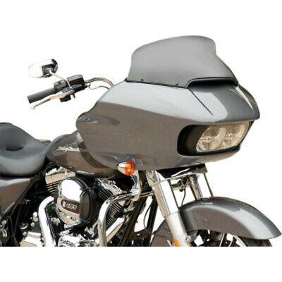"Memphis Shades 10/"" Dark Black Smoke Spoiler OE Windshield Harley 15 Road Glide"