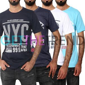 264b0ca3 Mens T Shirt Print Graphic Cotton Crew Neck Printed Tee Shirts ...