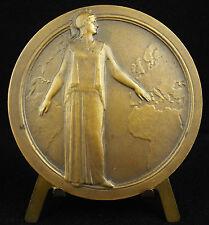 Médaille Déesse Minerve Athéna Assurance Incendie 1928 place Vendôme Paris medal