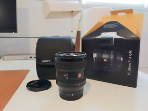 Sony FE 24mm f/1.4 GM Camera Lens barely used