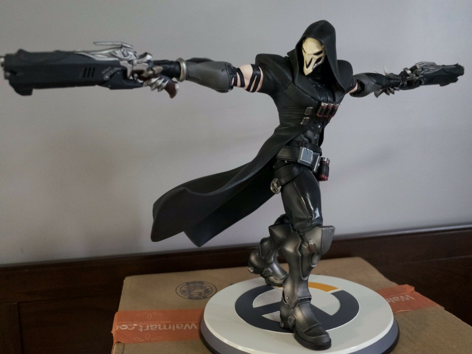 Blizzard Overwatch Reaper 12  Statue Wave 1 of 5000 Authentic Opened Box