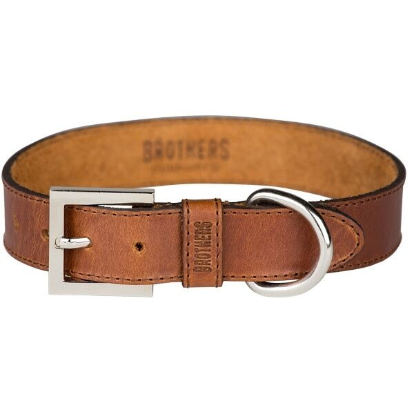 Bredhers Leather Dog Collar - Large