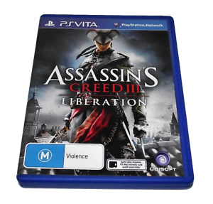 Assassin S Creed Iii Liberation Sony Ps Vita Ebay