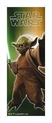 Yoda Lesezeichen Star Wars Serie 3D Effekt Bücher Zubehör Schule Jedi Meister